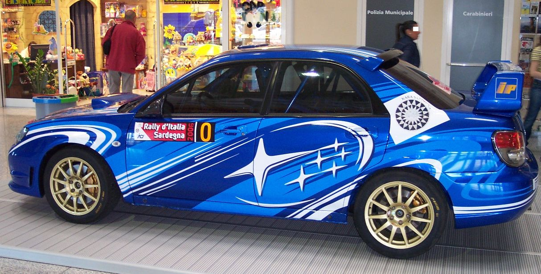 File:Subaru Impreza WRX 2006 blue vl.jpg - Wikimedia Commons  2006 Subaru Impreza Wrx Blue