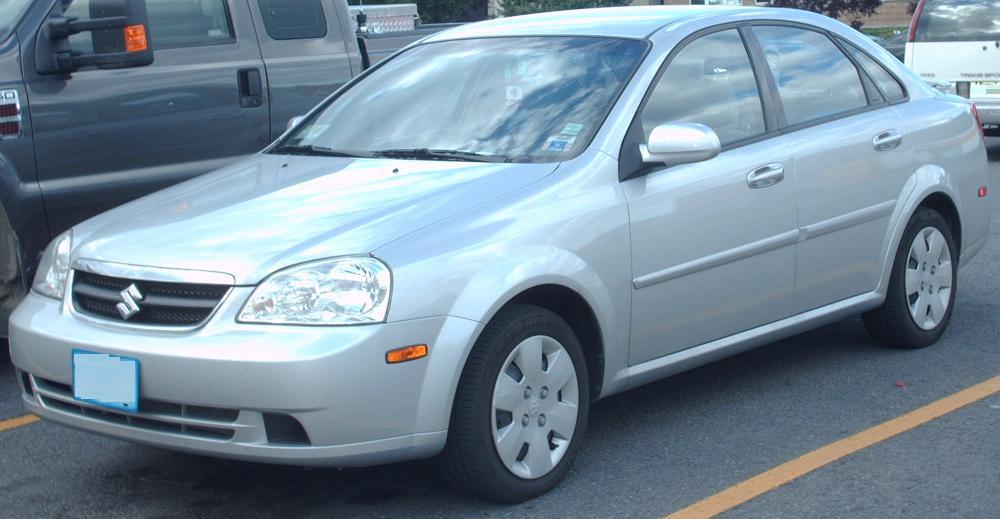File:Suzuki Forenza Sedan.jpg - Wikimedia Commons