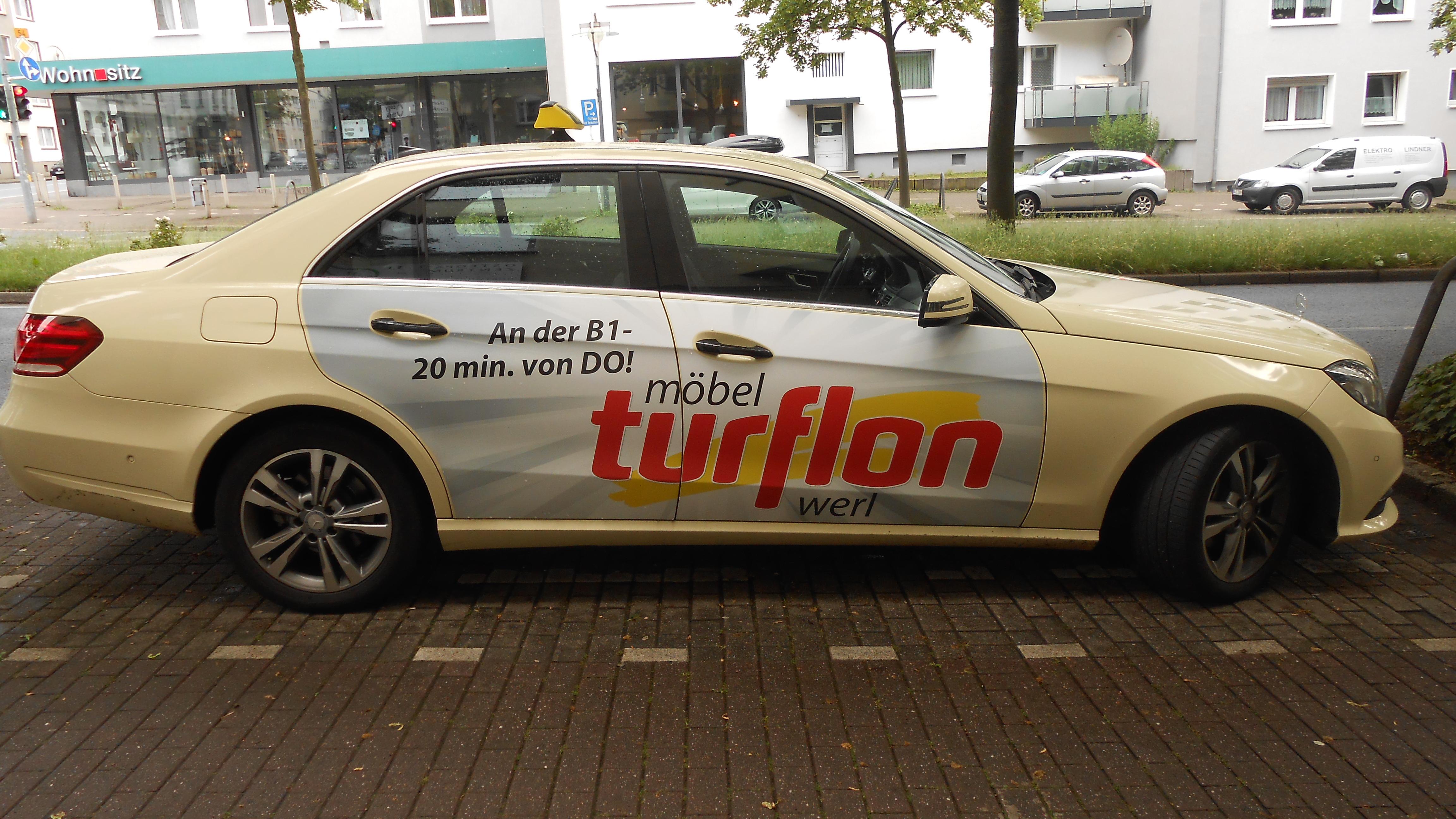 File:Taxi Dortmund, Turflon.jpg - Wikimedia Commons