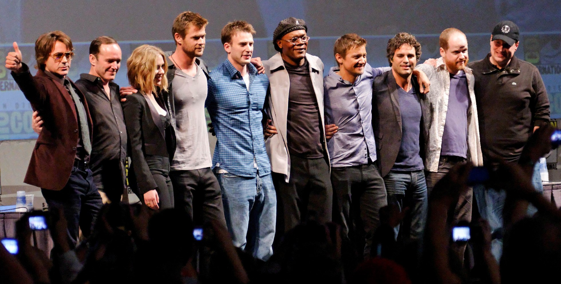 Image result for The Avengers cast