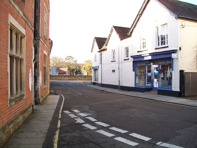 The Square in Gillingham looking west - geograph.org.uk - 1636243