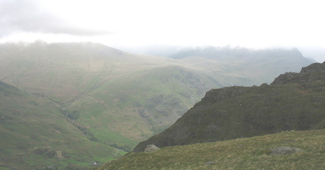 File:The top of Clogwyn Mawr - geograph.org.uk - 287626.jpg