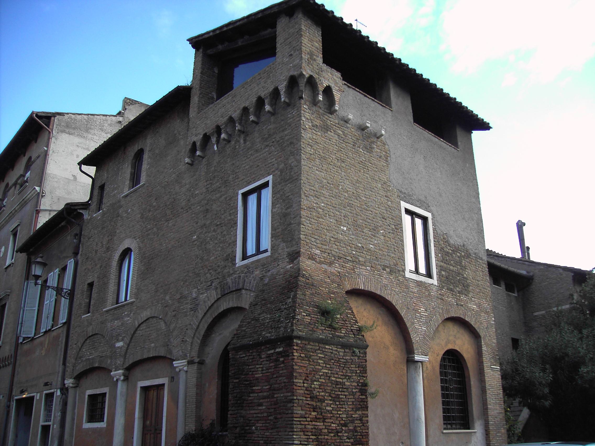 Al BAR del Regno - Pagina 40 Trastevere_-_torre_di_Ettore_Fieramosca_a_piazza_santa_Cecilia_1501