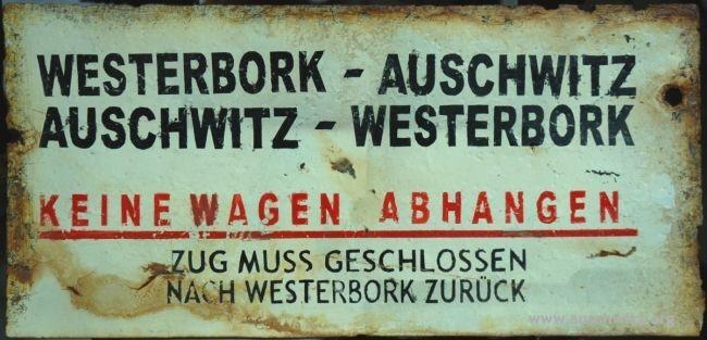 Treinbord Westerbork-Auschwitz Auschwitz State Museum.jpg