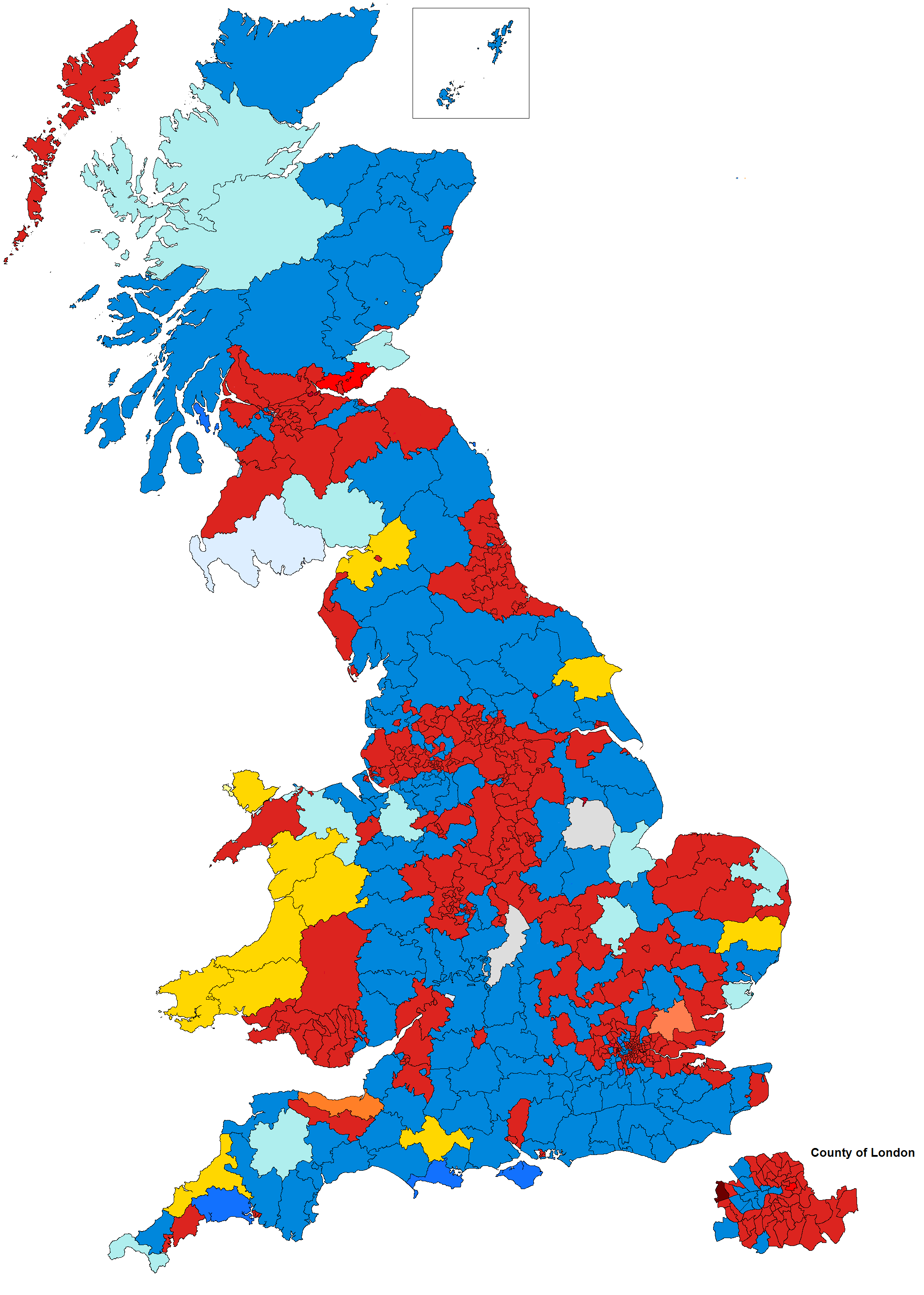 United Kingdom general election 1945  Wikipedia