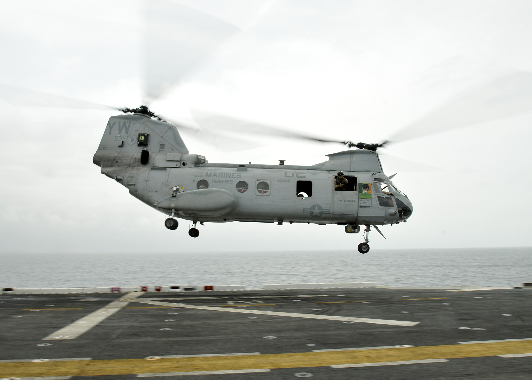 chinook helicopters with File Us Navy 100813 N 1226d 066 A Ch 46 Sea Knight Helicopter Launches From Uss Peleliu  Lha 5 on Raaf Amberley 76 Years On Australias Largest Defence Force Base besides Funny Tape Face Photos likewise File us navy 100813 N 1226d 066 a ch 46 sea knight helicopter launches from uss peleliu  lha 5 also Org furthermore In Flight Refueling.