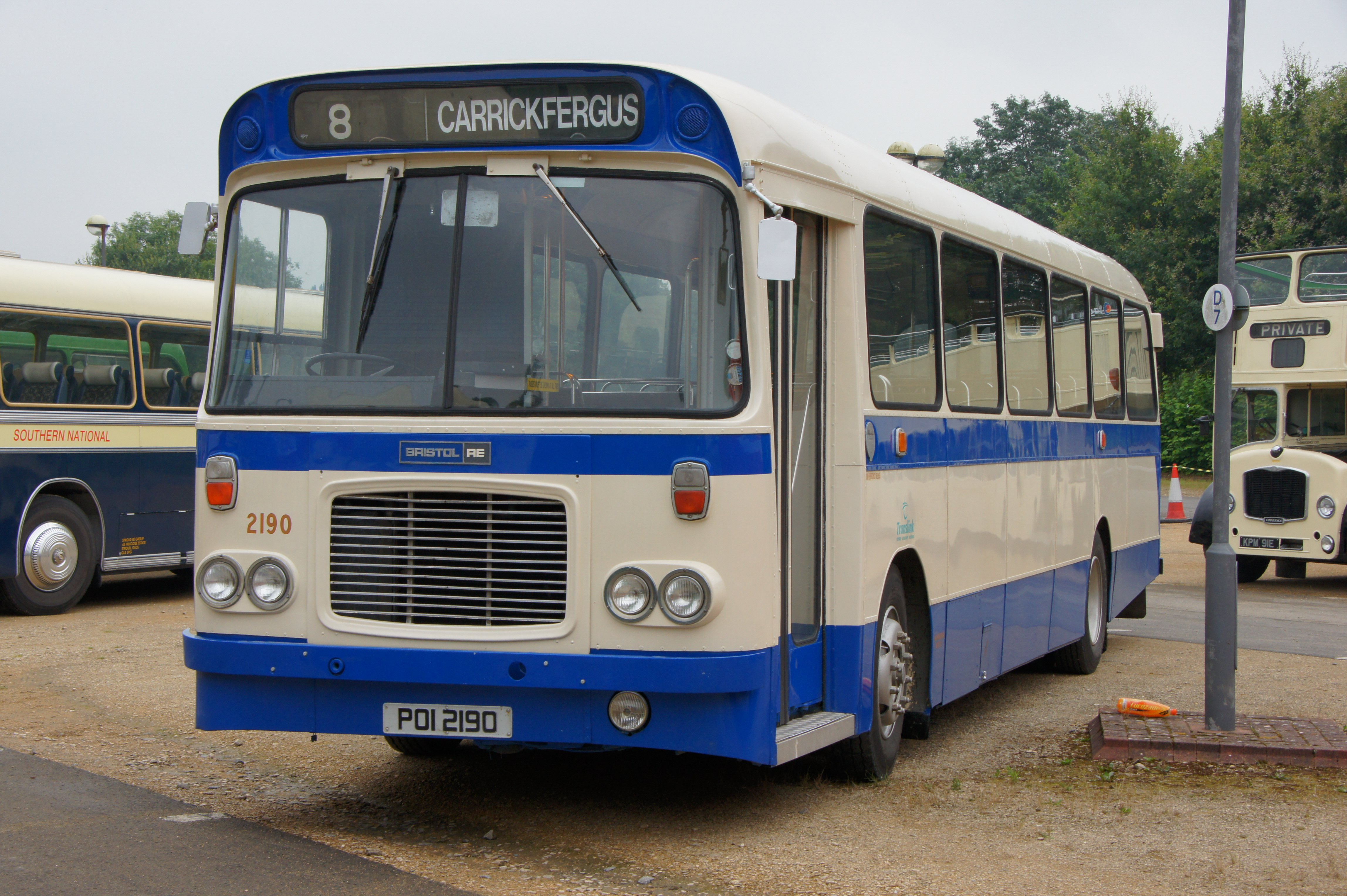 File:Ulsterbus bus 2190 (POI 2190), 2012 Bristol Vintage Bus Group open
