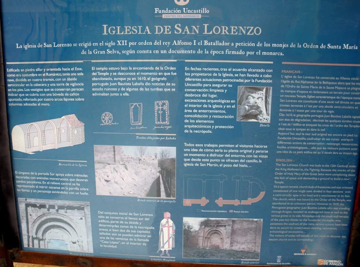 bce90e0ae4b File Uncastillo - Iglesia de San Lorenzo 2.jpg - Wikimedia Commons