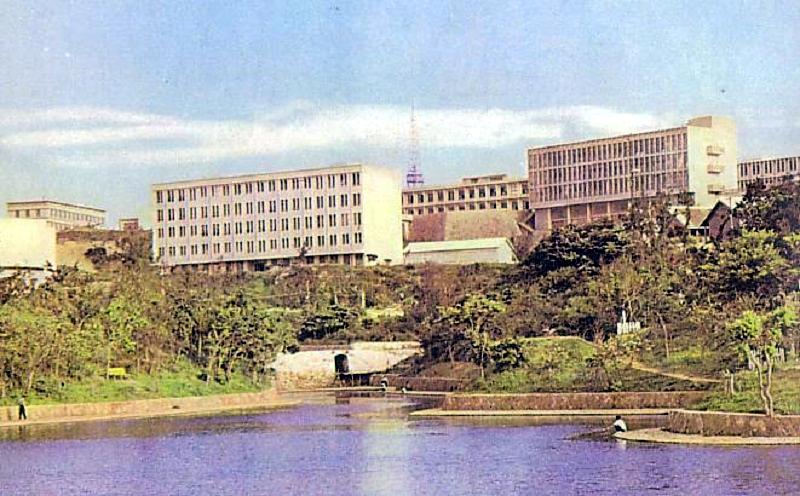 University of the Ryukyus in 1960s