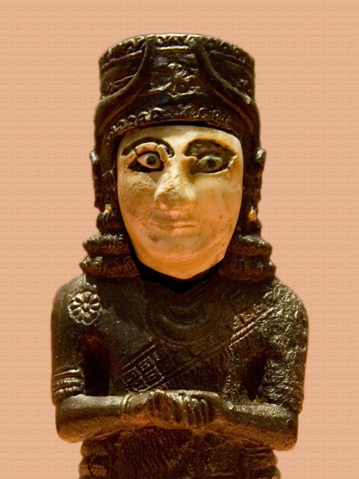 Фрагмент бронзового трона урартских царей