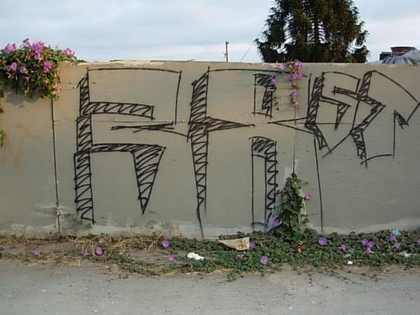 White Fence Gang Graffiti