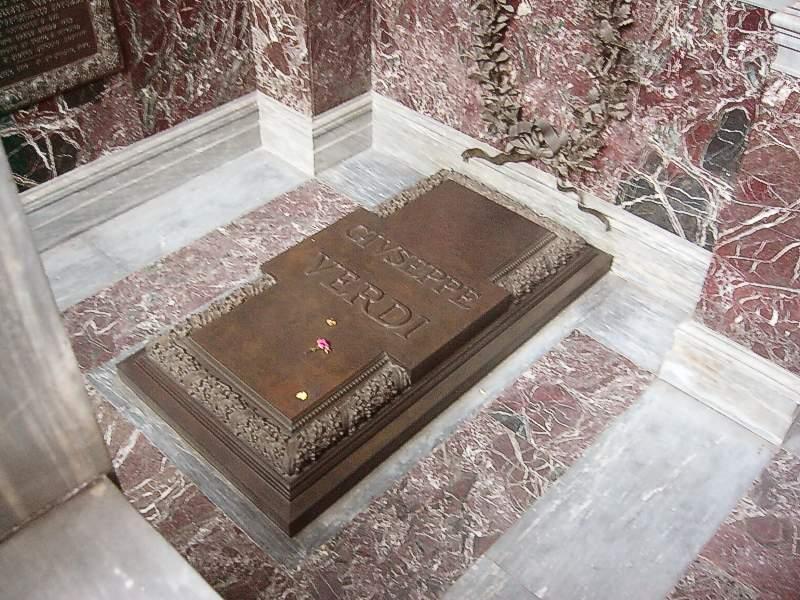 Grab von Giuseppe Verdi
