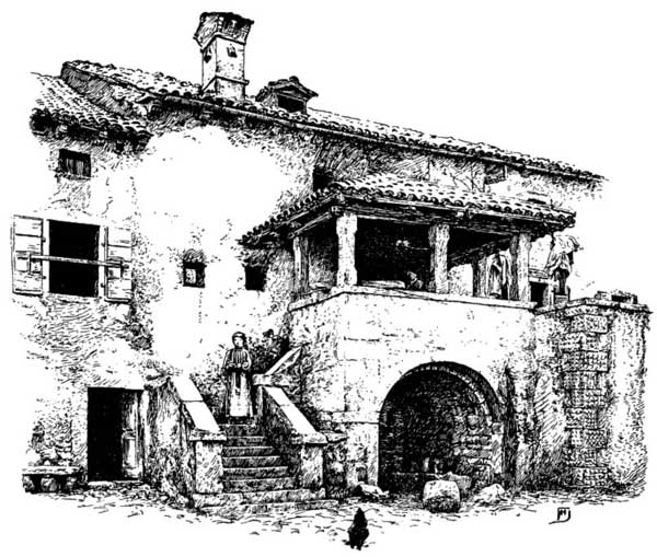 FileVintage Italian Farmhouse Drawing