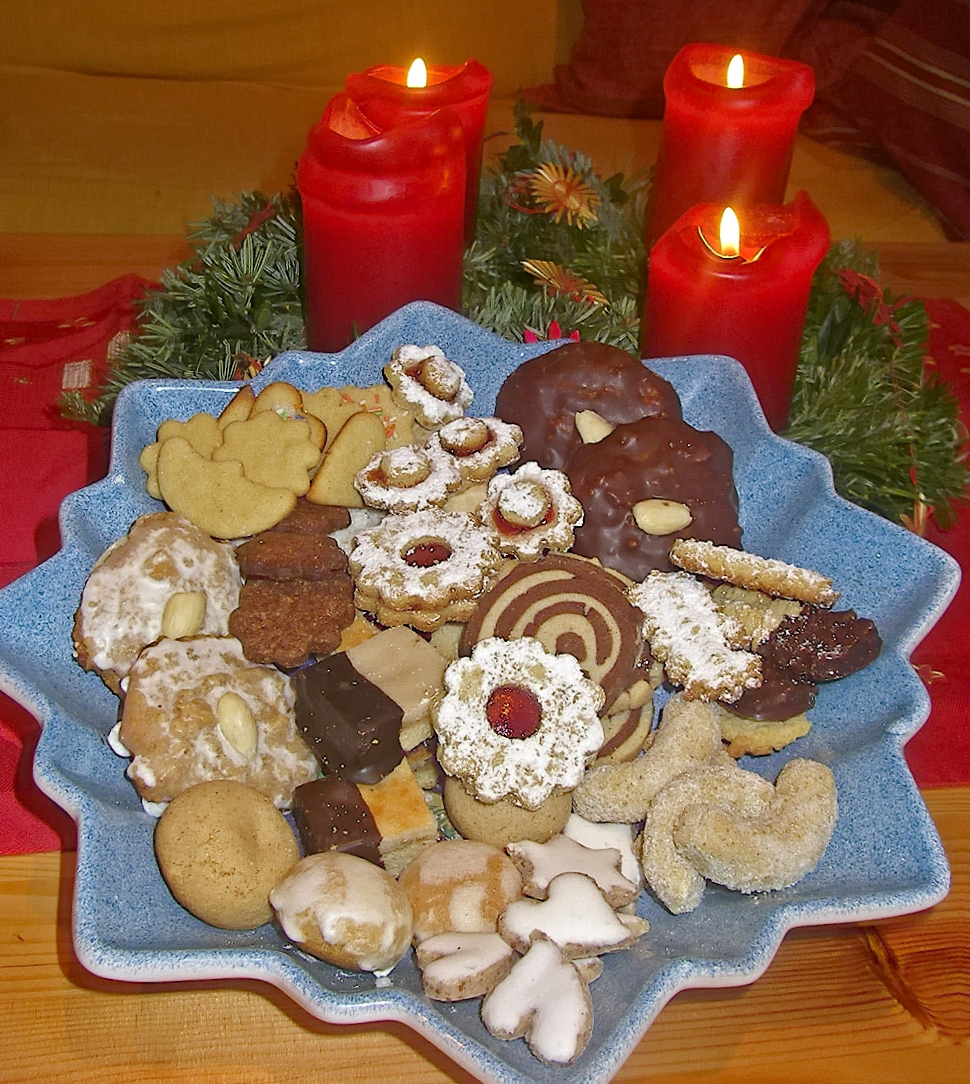 File weihnachtsgeb ckteller wikimedia commons for Maison en biscuit de noel