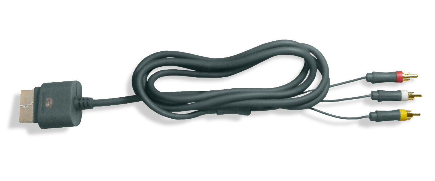 File:Xbox 360 composite cable.png - Wikimedia Commons