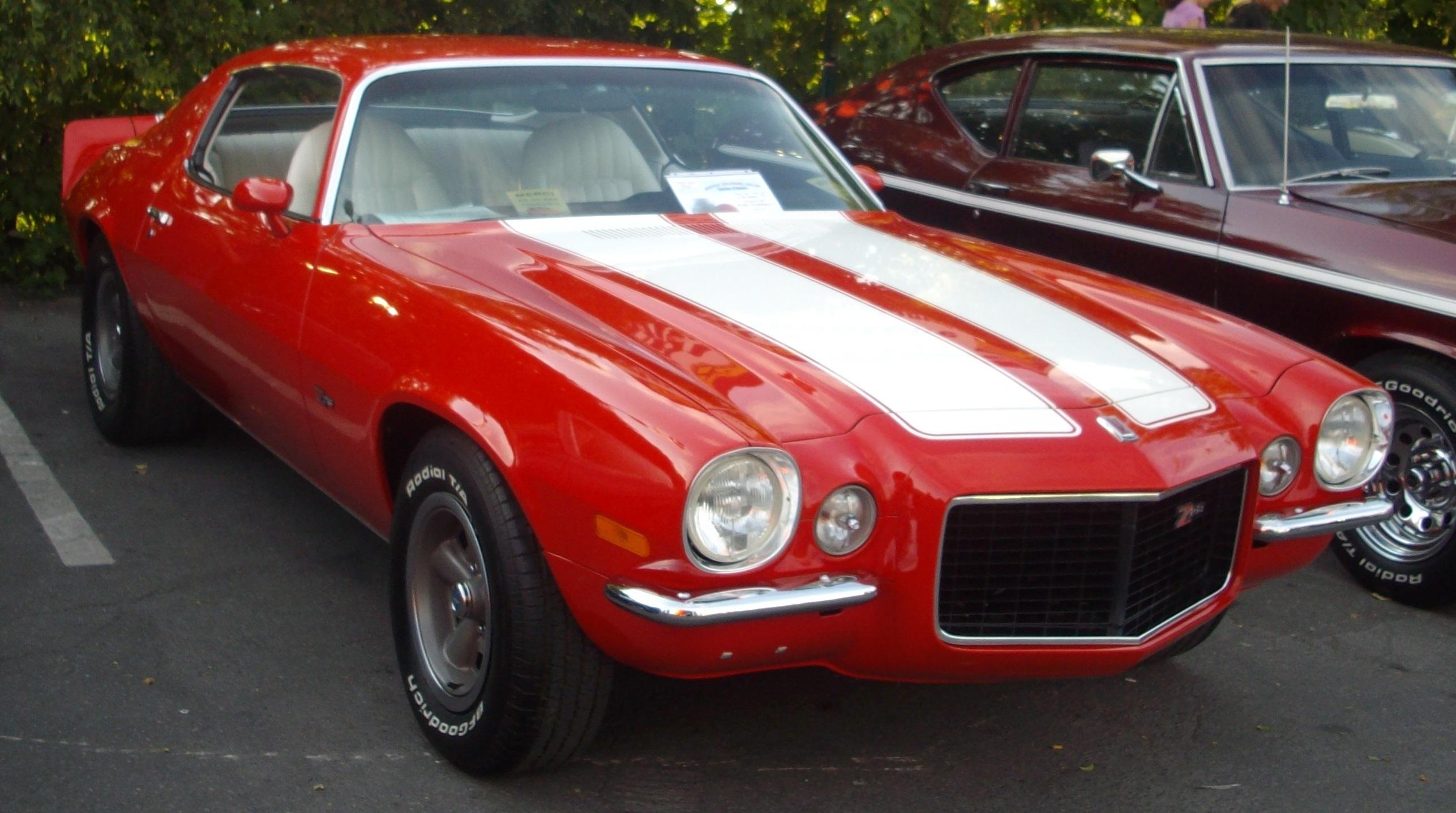 572 Chevrolet >> File:'72 Chevrolet Camaro Z28 (Orange Julep '12).JPG - Wikimedia Commons