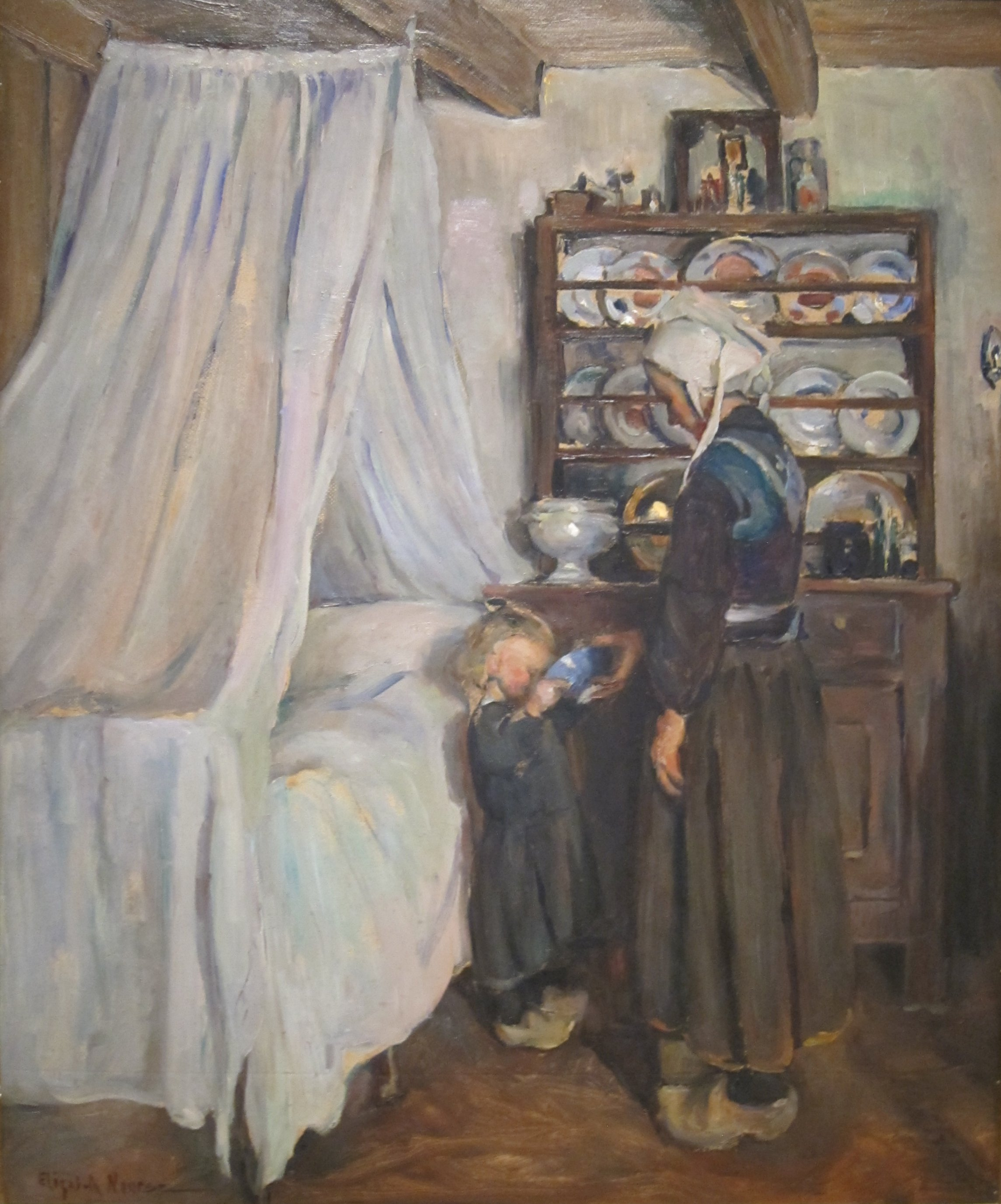 file breton interior by elizabeth nourse on loan to the