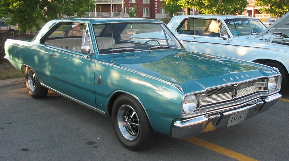 Description '67 Dodge Dart Coupe (Auto classique Jukebox Burgers '11 ...