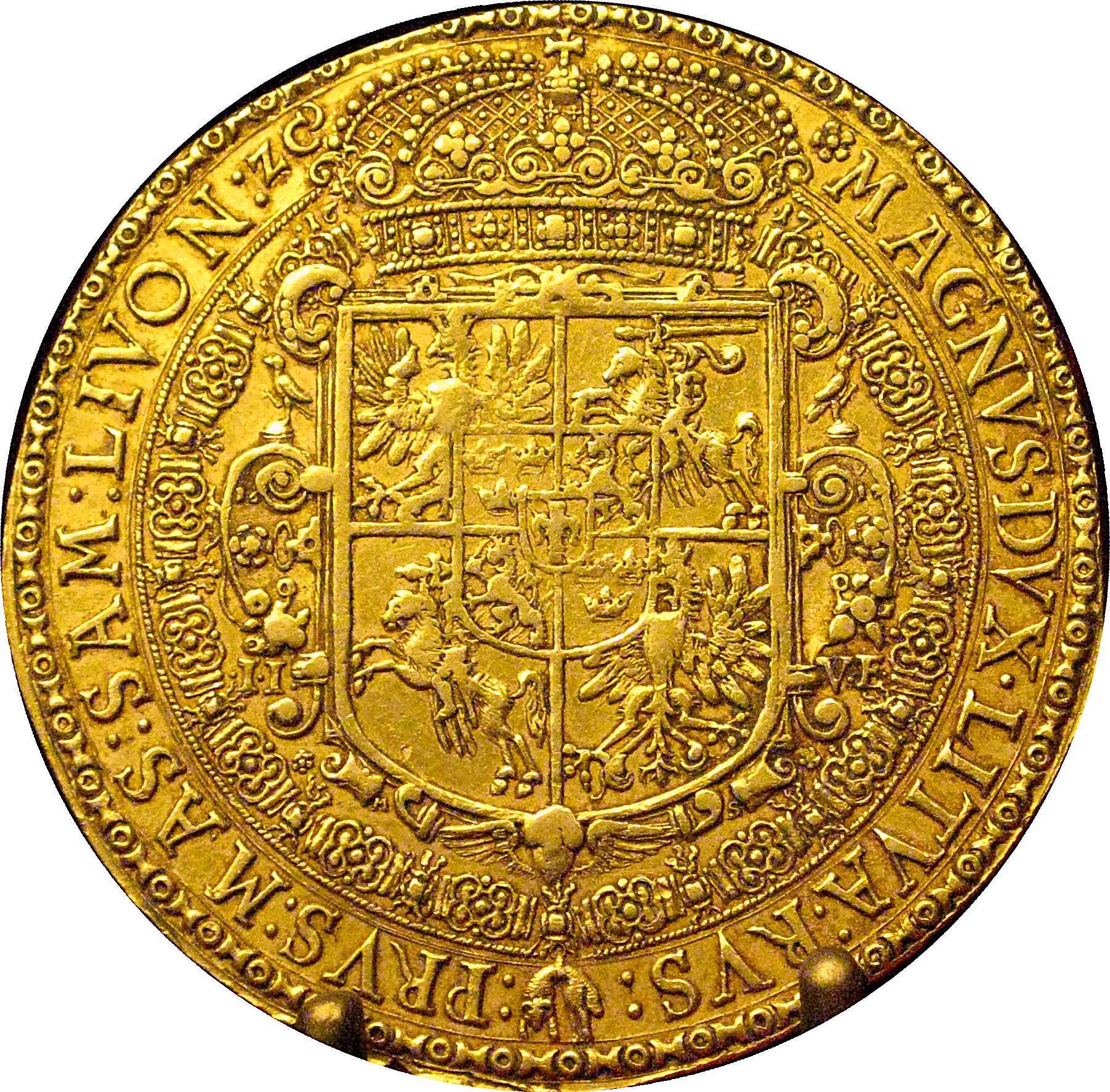 15 ducats of Sigismund III Vasa from 1617.