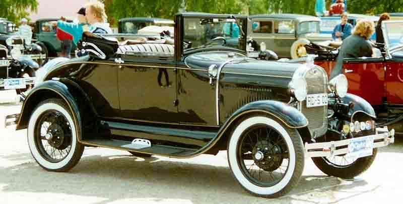 Model Cars For Sale >> File:1929 Ford Model A 68A Cabriolet.jpg - Wikimedia Commons