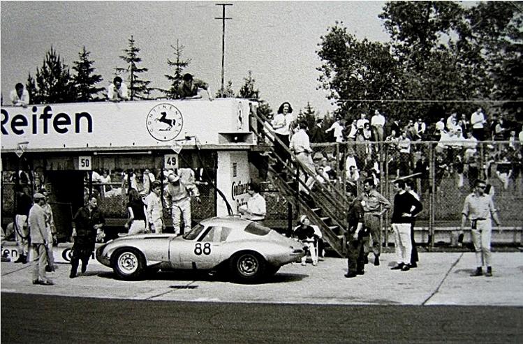 Boxenstopp in den 1960er Jahren