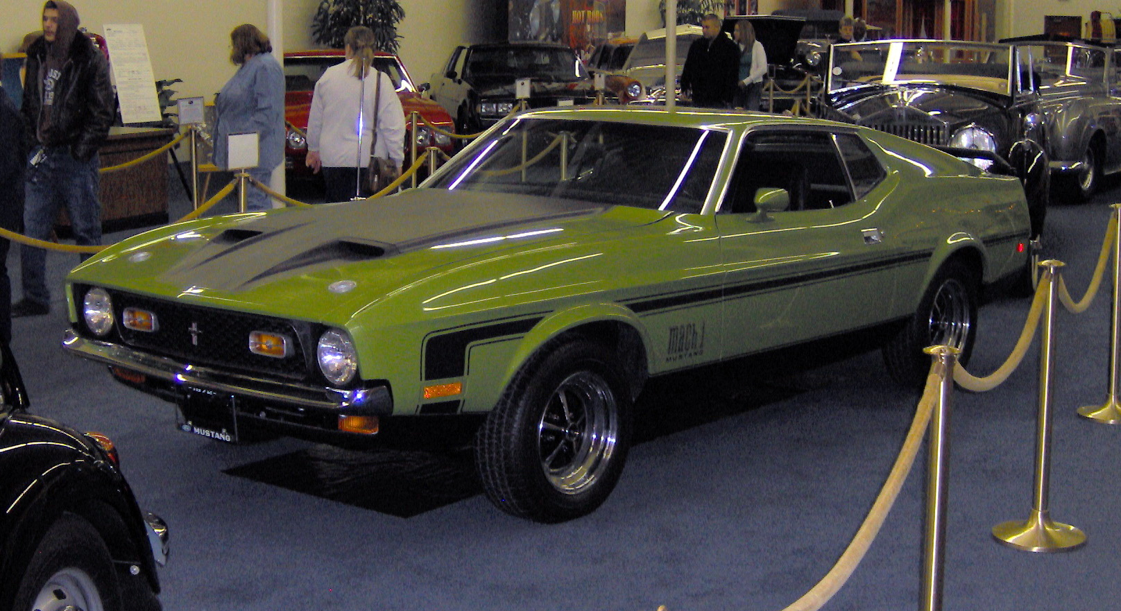 Description 1972 Ford Mustang Mach 1 JPG