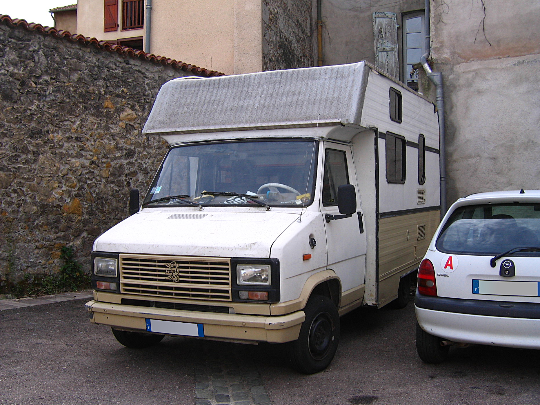 File1981 90 Peugeot J5 Based DIY Campervan