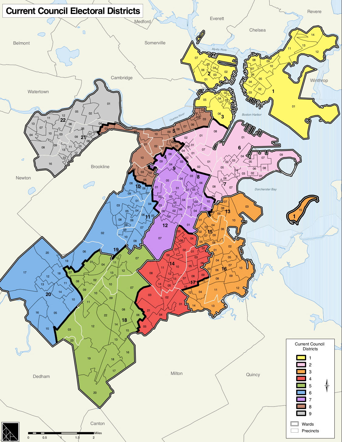 File2003 Districts BostonCityCounciljpg  Wikimedia Commons