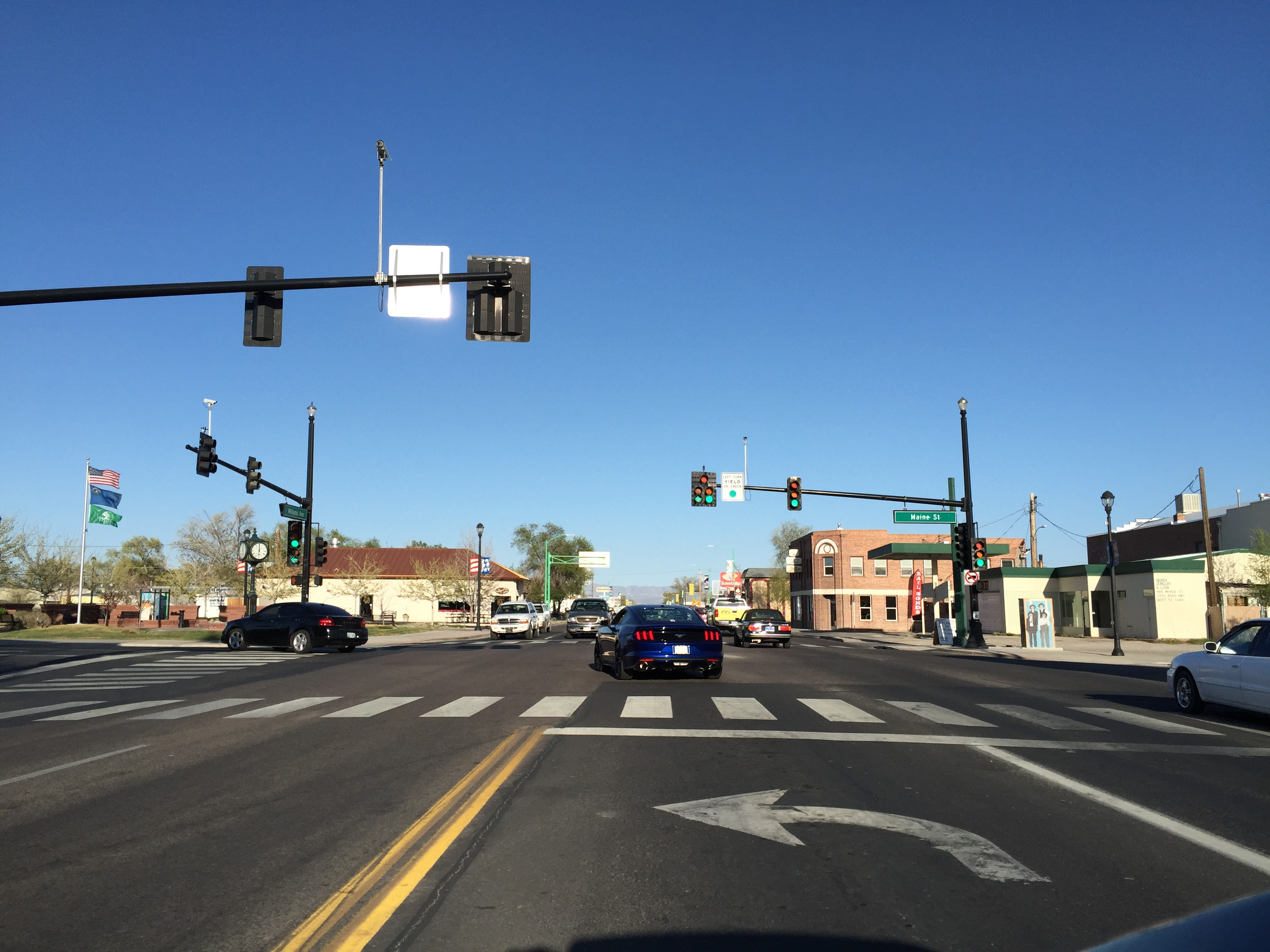 Fallon Nevada Of Commons At U Junction The Along With 17 Street File 95 Wikimedia s Intersection Maine Avenue In jpg Williams 50 And 2015-04-02 - View 36 Route East