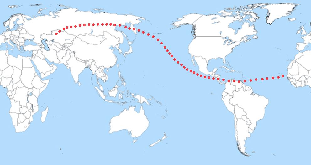 apophis 2029 asteroid impact map - photo #31