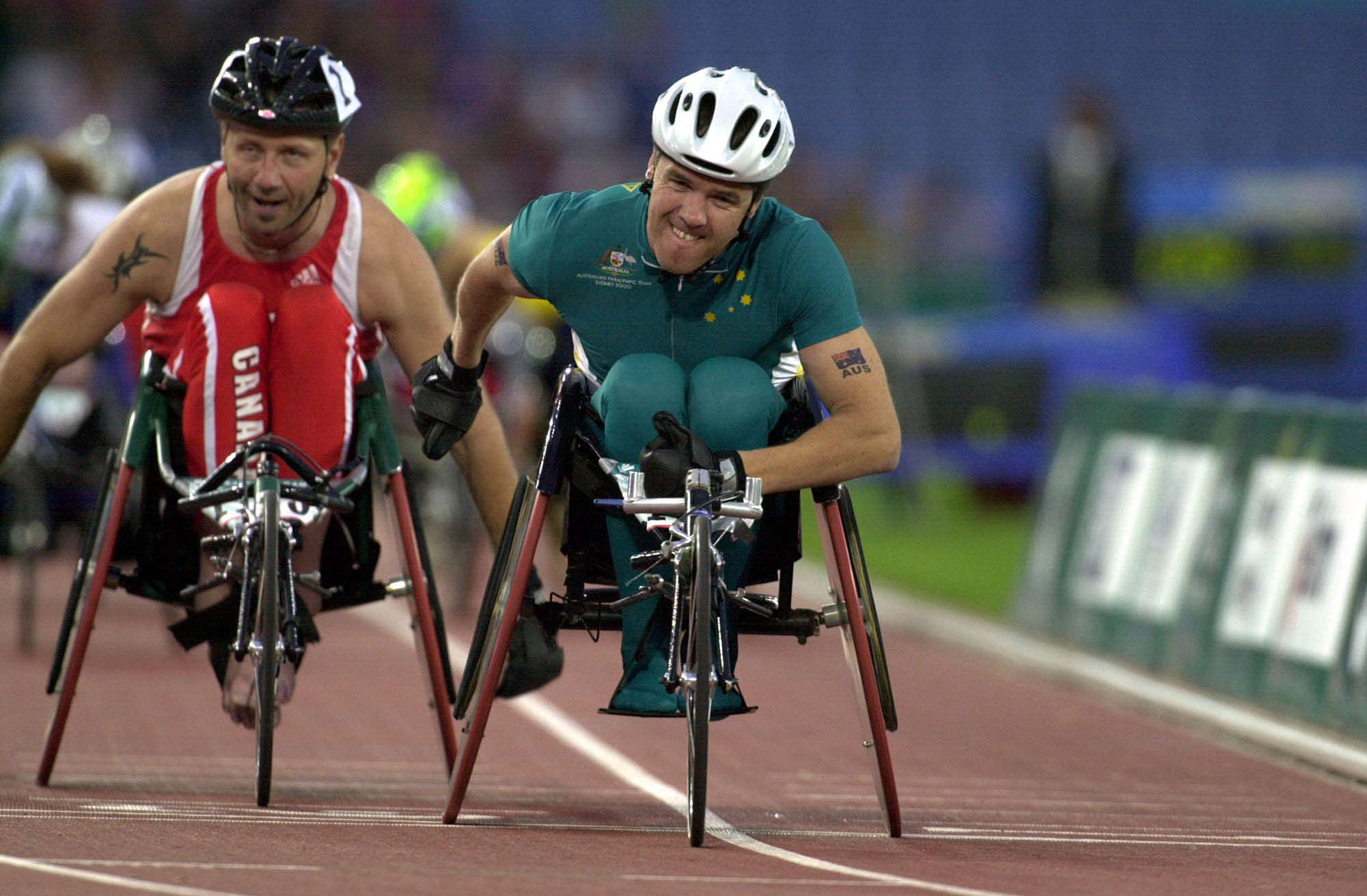 File231000 Athletics Wheelchair Racing 800m T52 Final