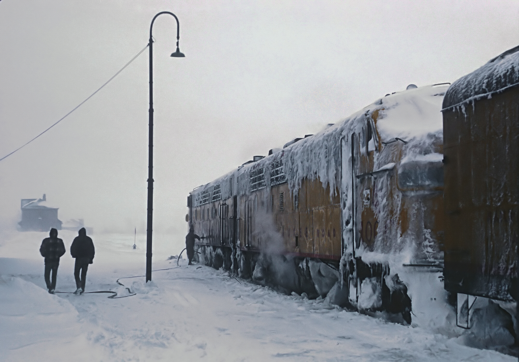 What Did The Copper Country Limited and Calumet Look Like  on 1/7/1967