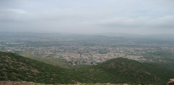 View from Taragarh Fort