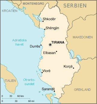 albanien karta Fil:Albanien karta. – Wikipedia albanien karta