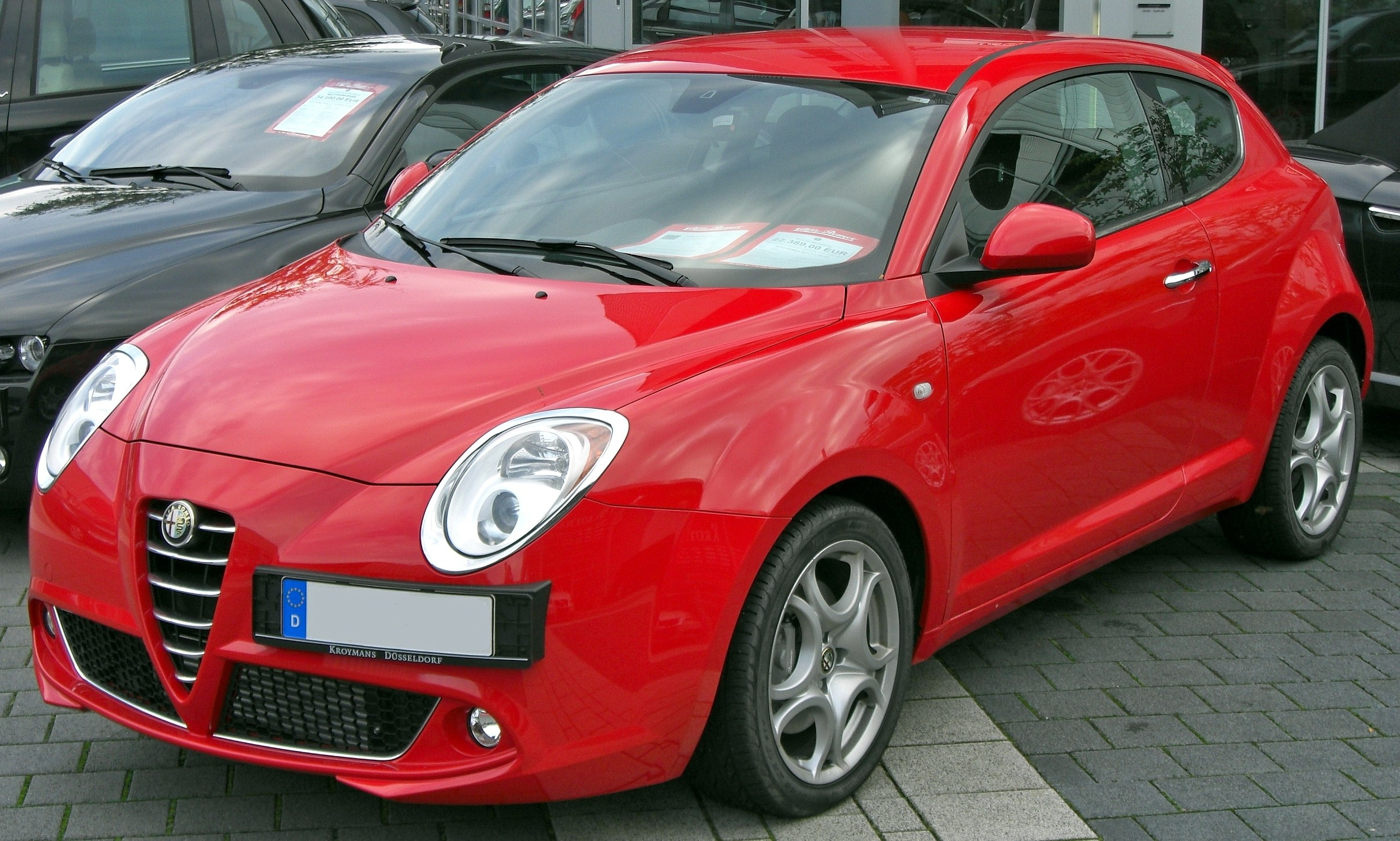 file alfa romeo mito 1 4 tb front jpg wikimedia commons. Black Bedroom Furniture Sets. Home Design Ideas