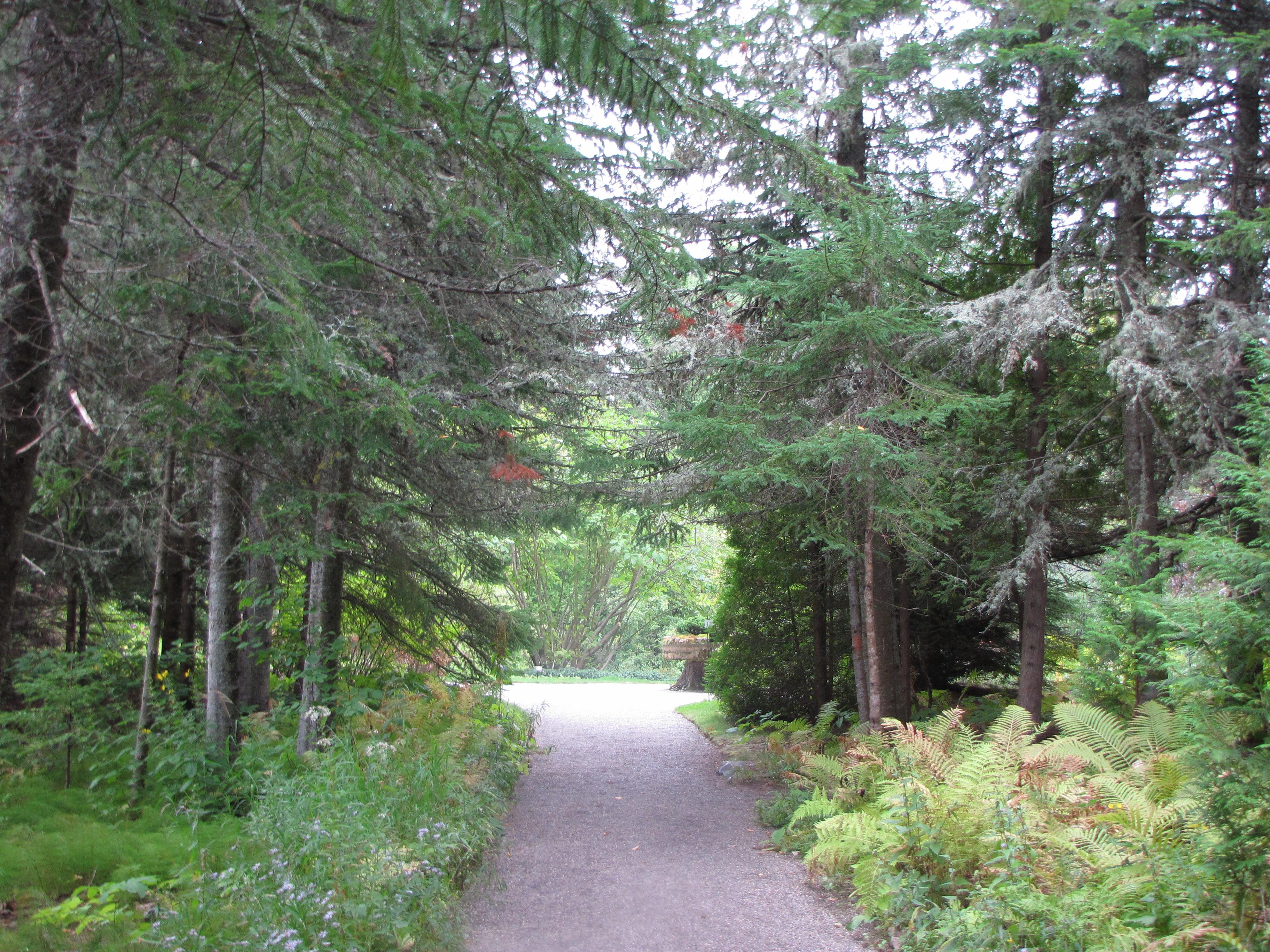 File Aménagement paysager  la Villa Estevan aux Jardins de Métis