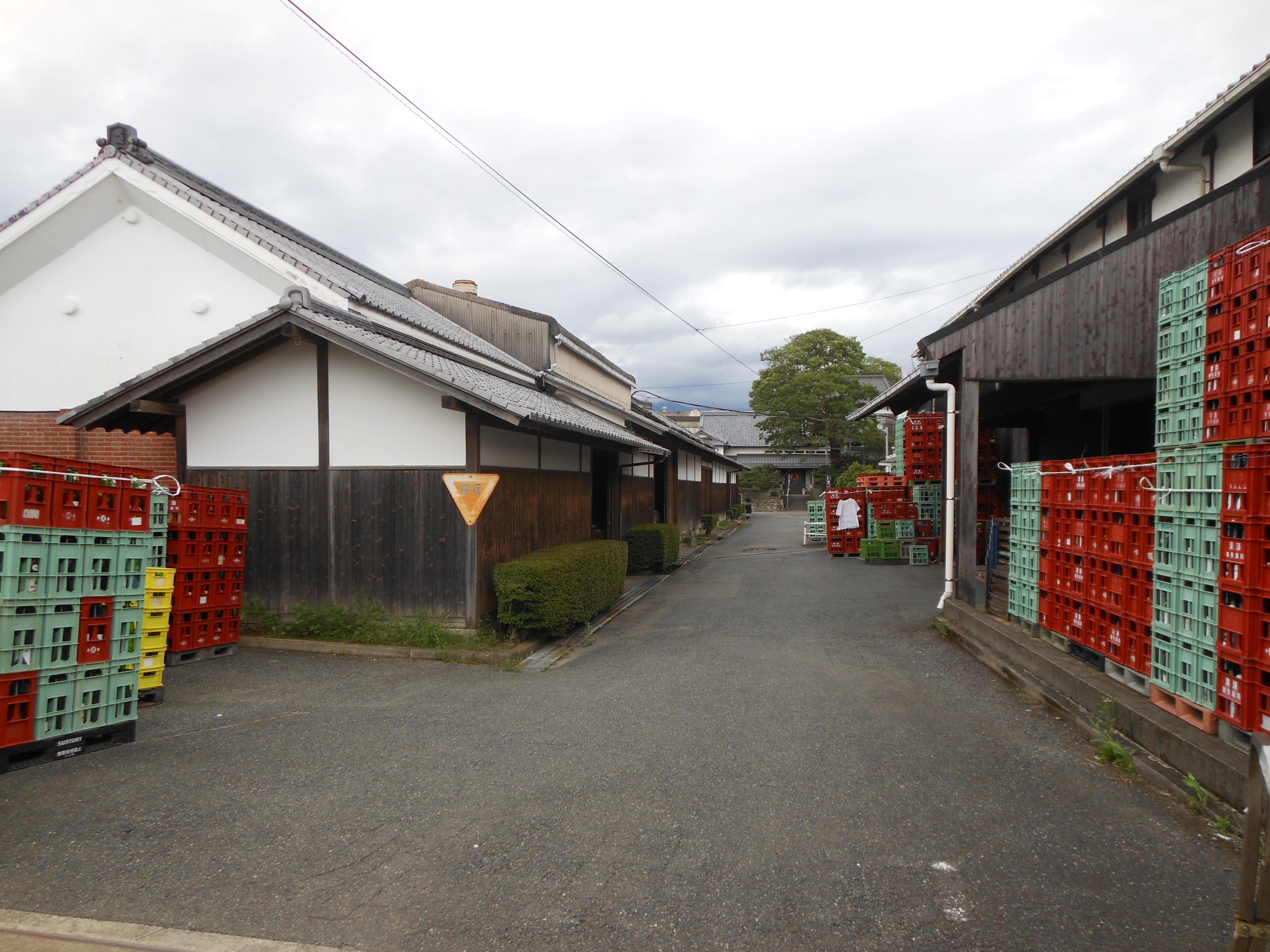 Amabuki shuzo warehouses miyaki