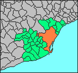 metropolitan area in Spain