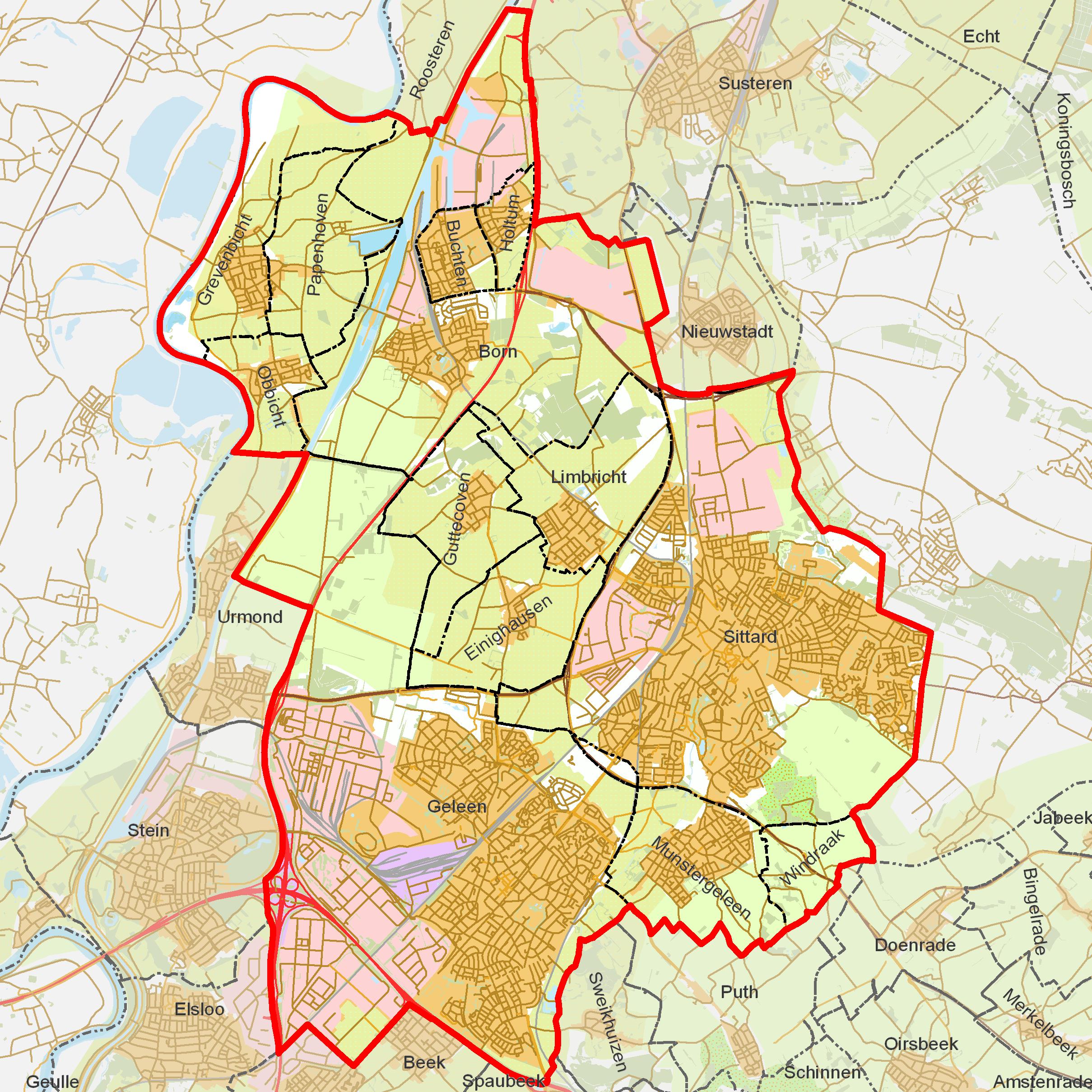 FileBAG woonplaatsen Gemeente SittardGeleenpng Wikimedia Commons