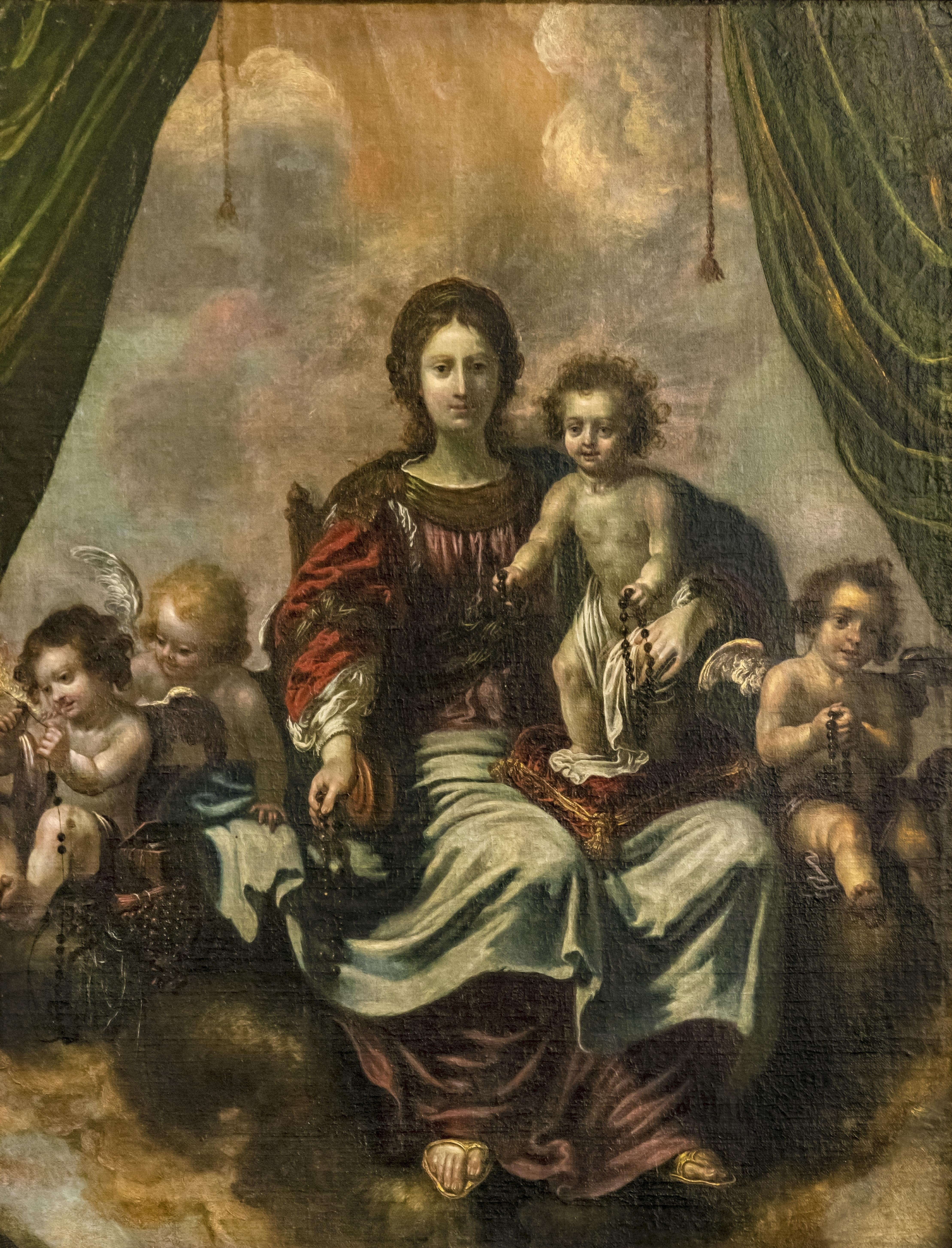 Fichierbeaux Arts De Carcassonne La Vierge Et Lenfant