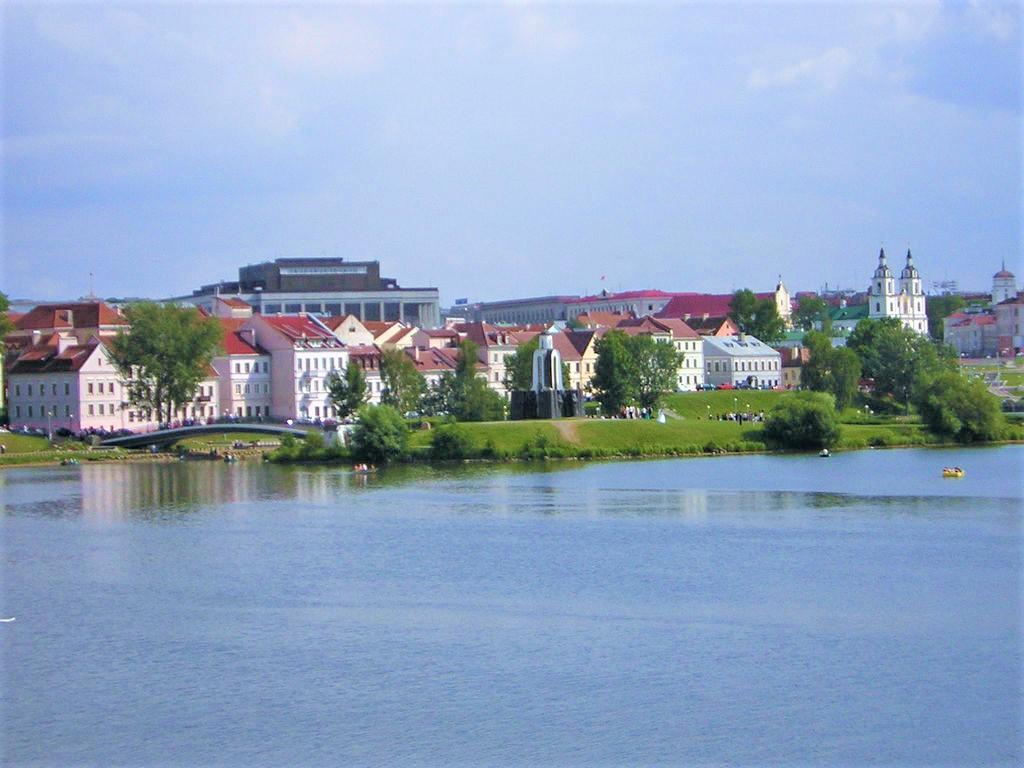 Minsk Belarus  City new picture : Belarus Minsk Svislach and Traetskaye Suburb 1 Wikipedia ...