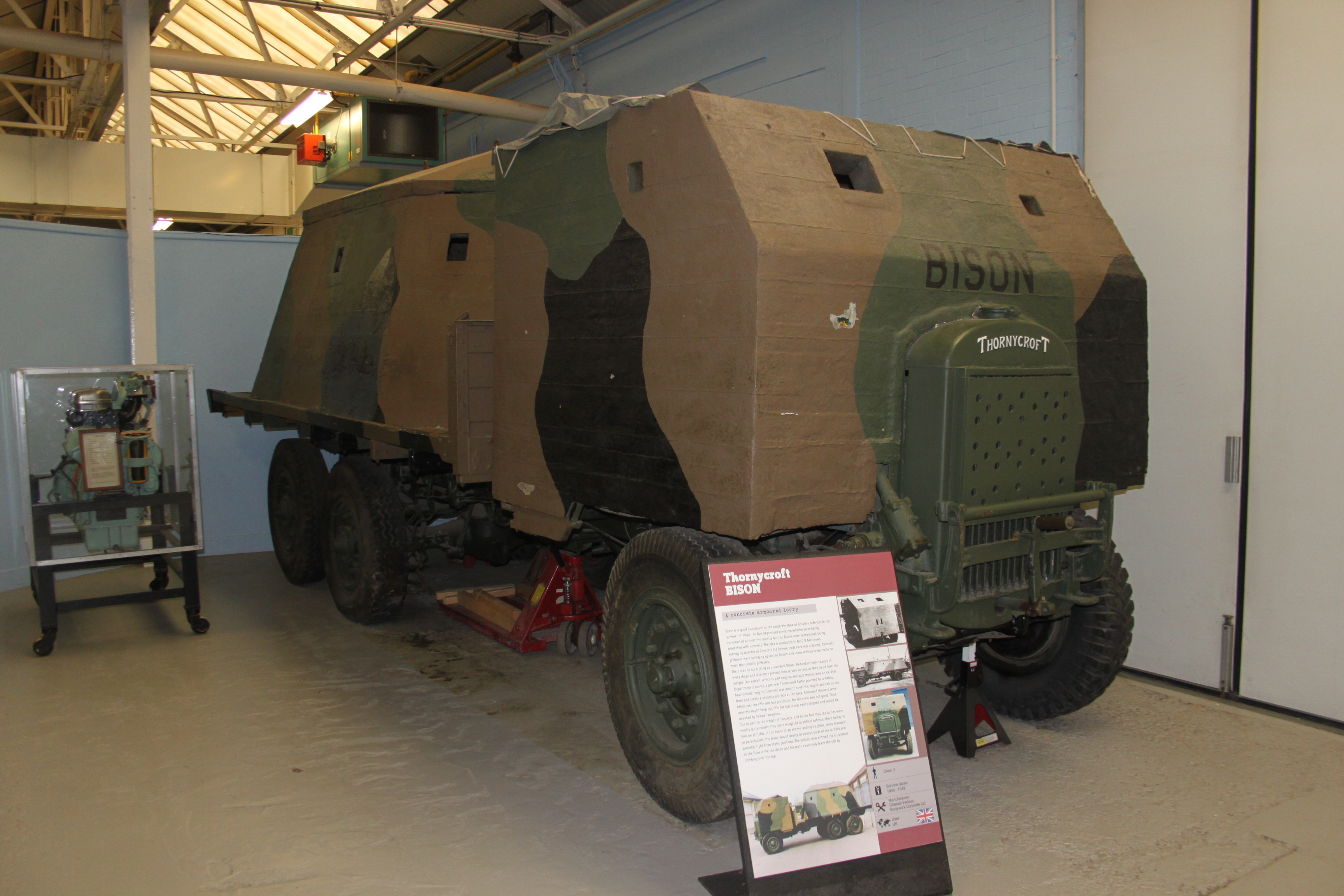 Bison_concrete_armoured_lorry_at_the_Tan