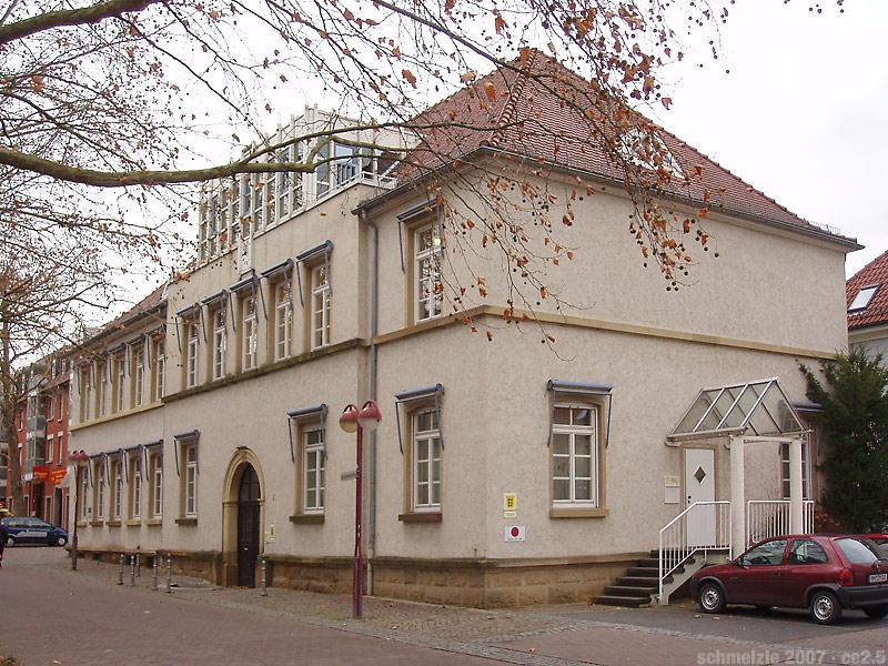 Polizeiposten im Böckinger Alten Rathaus Foto: Schmelzle