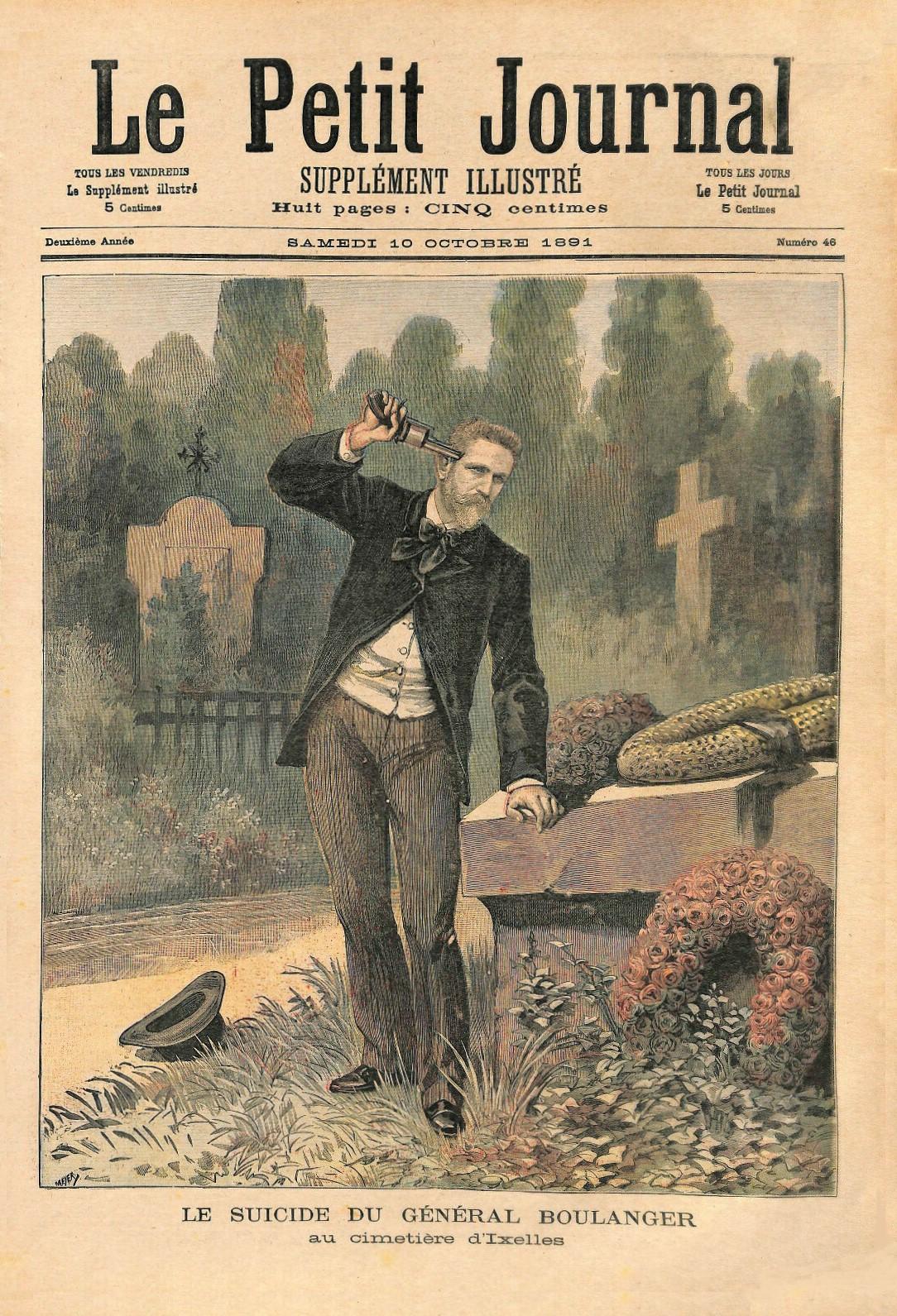 Suicide du Général Boulanger