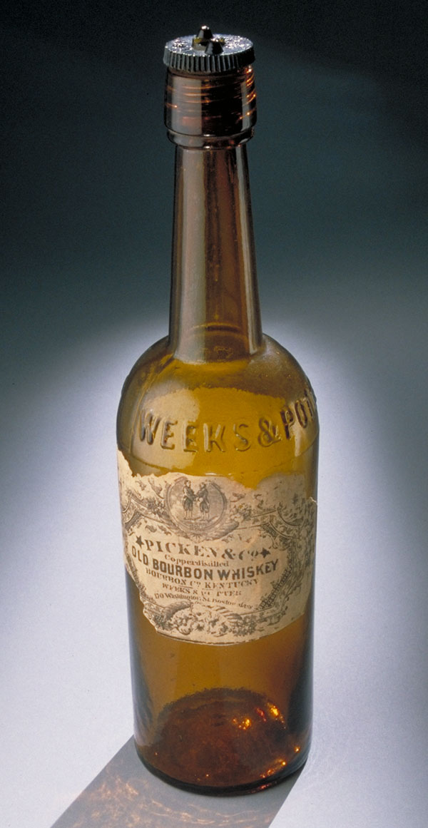 File:Bourbon-bottle from Gettysburg.jpeg