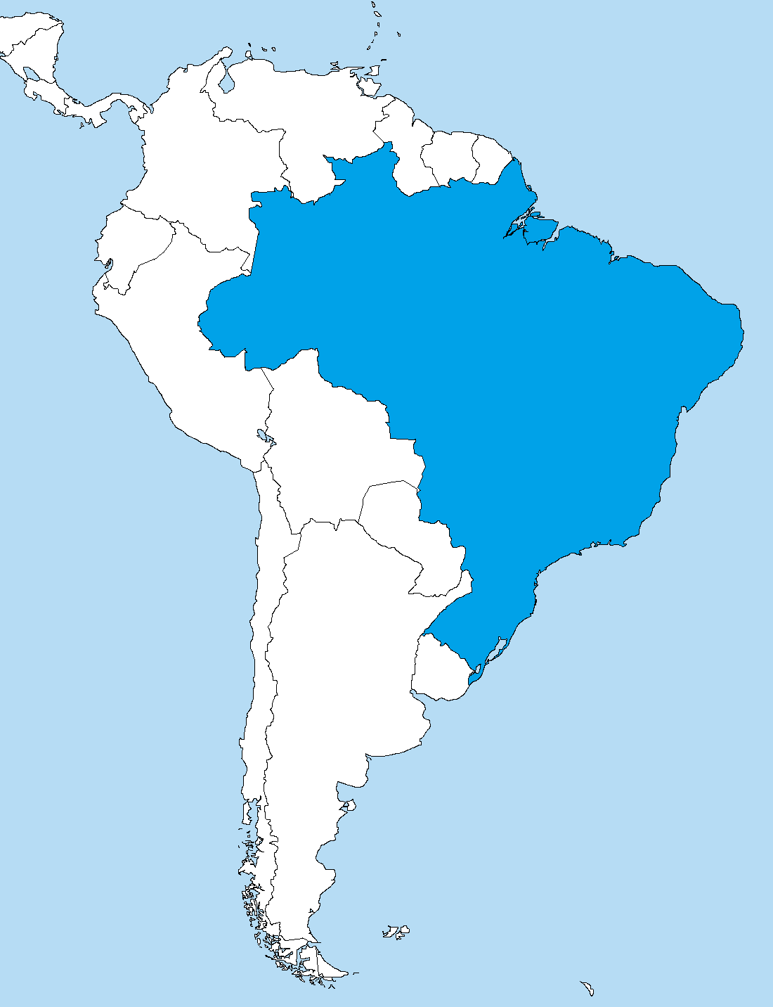 File Brazil In South America Png Wikimedia Commons