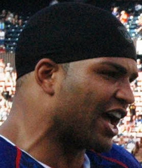 NFL player Brendon Ayanbadejo at the 2007 Pro ...