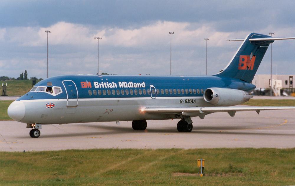 [Internacional] China prepara primeiro jato comercial de grande porte British_Midland_DC-9-15_G-BMAA