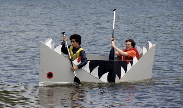 CREATE A CARDBOARD BOAT By 1wPhipps Own Work Via Wikimedia Commons