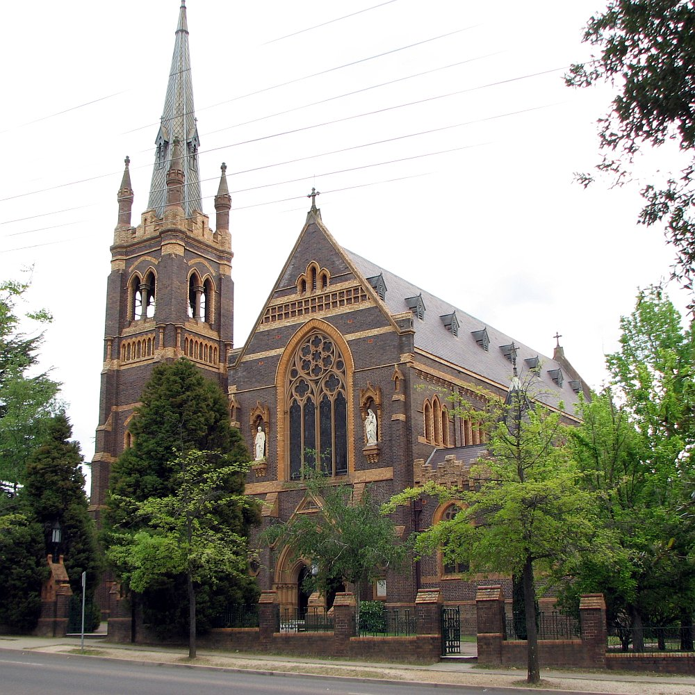 Catholic Cathedral of St Stephen, Brisbane (Australia ...